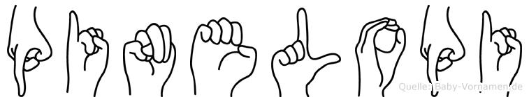Pinelopi in Fingersprache für Gehörlose