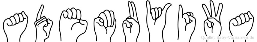 Ademuyiwa in Fingersprache für Gehörlose