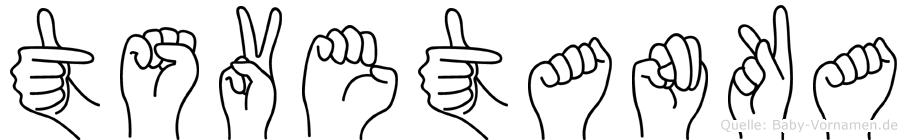Tsvetanka in Fingersprache für Gehörlose