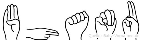 Bhanu in Fingersprache für Gehörlose