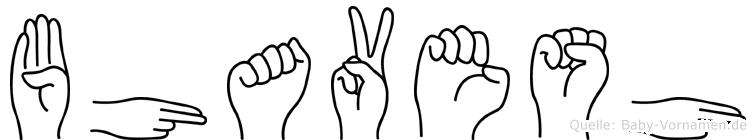 Bhavesh im Fingeralphabet der Deutschen Gebärdensprache