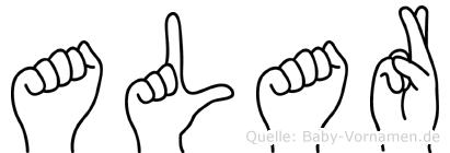 Alar in Fingersprache für Gehörlose