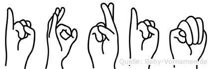 Ifrim in Fingersprache für Gehörlose