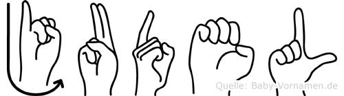 Judel in Fingersprache für Gehörlose