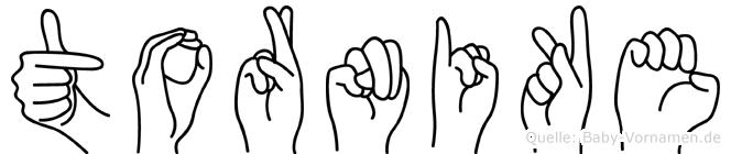 Tornike in Fingersprache für Gehörlose