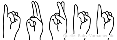 Iurii in Fingersprache für Gehörlose