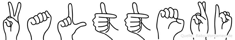 Valtteri in Fingersprache für Gehörlose