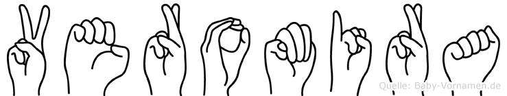 Veromira in Fingersprache für Gehörlose