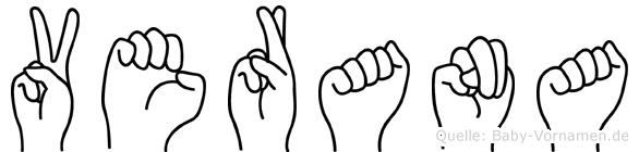 Verana in Fingersprache für Gehörlose