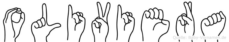 Oliviera in Fingersprache für Gehörlose