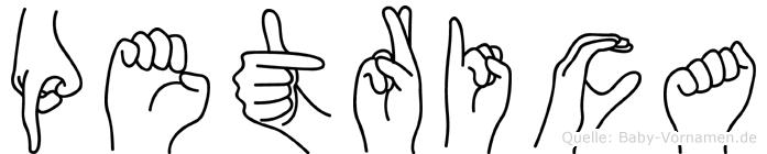 Petrica in Fingersprache für Gehörlose