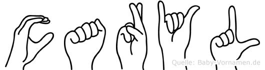 Caryl in Fingersprache für Gehörlose