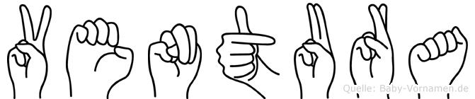 Ventura in Fingersprache für Gehörlose