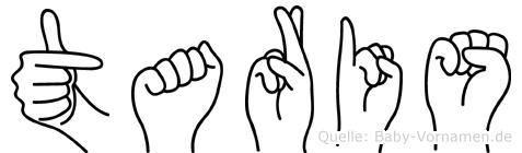 Taris in Fingersprache für Gehörlose