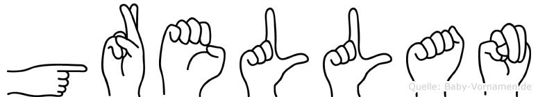 Grellan in Fingersprache für Gehörlose