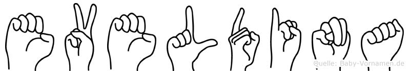 Eveldina in Fingersprache für Gehörlose