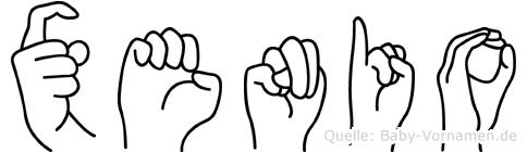 Xenio in Fingersprache für Gehörlose