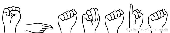 Shanaia in Fingersprache für Gehörlose