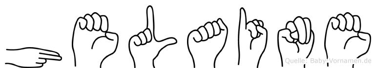 Helaine in Fingersprache für Gehörlose