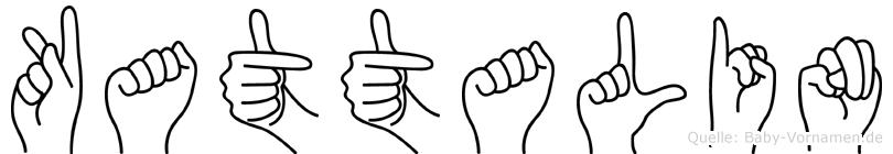Kattalin in Fingersprache für Gehörlose