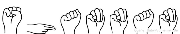 Shannan in Fingersprache für Gehörlose