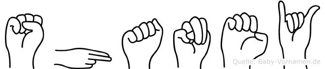 Shaney in Fingersprache für Gehörlose