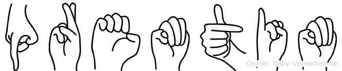 Premtim in Fingersprache für Gehörlose