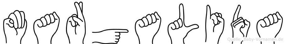 Margalida in Fingersprache für Gehörlose