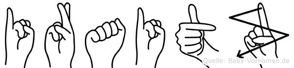 Iraitz in Fingersprache für Gehörlose