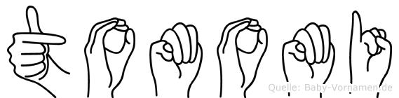 Tomomi in Fingersprache für Gehörlose