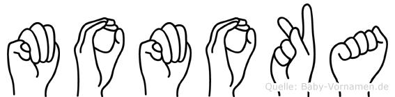 Momoka in Fingersprache für Gehörlose