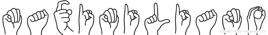 Maximiliano in Fingersprache für Gehörlose