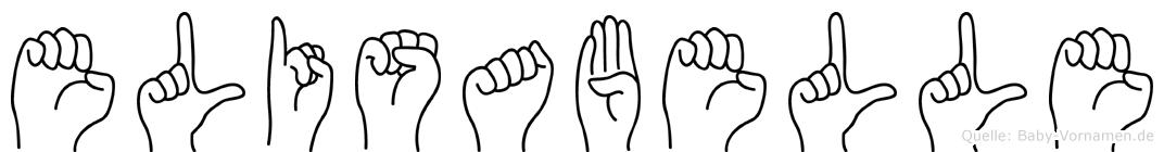 Elisabelle in Fingersprache für Gehörlose