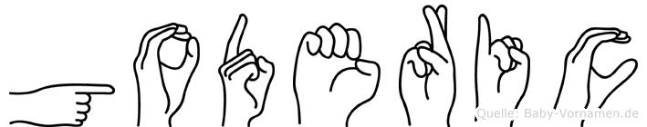 Goderic in Fingersprache für Gehörlose