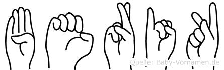 Berik in Fingersprache für Gehörlose