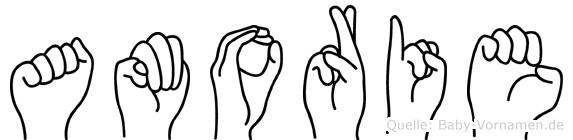 Amorie in Fingersprache für Gehörlose