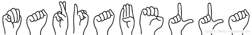 Mariabella in Fingersprache für Gehörlose