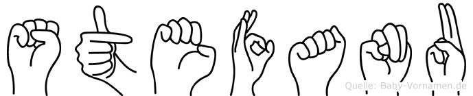 Stefanu in Fingersprache für Gehörlose