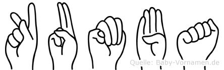 Kumba in Fingersprache für Gehörlose