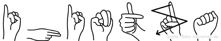 Ihintza in Fingersprache für Gehörlose