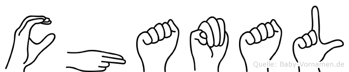 Chamal in Fingersprache für Gehörlose