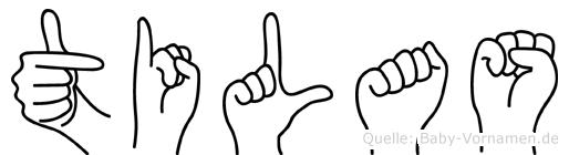 Tilas in Fingersprache für Gehörlose