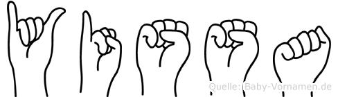 Yissa in Fingersprache für Gehörlose