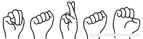 Narae in Fingersprache für Gehörlose