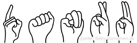 Danru in Fingersprache für Gehörlose