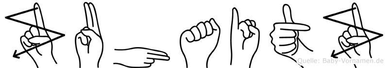 Zuhaitz im Fingeralphabet der Deutschen Gebärdensprache