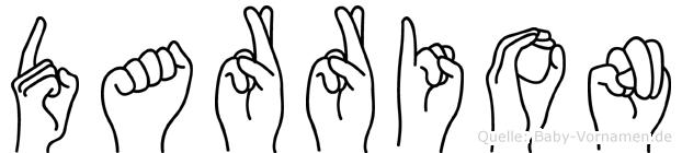 Darrion in Fingersprache für Gehörlose
