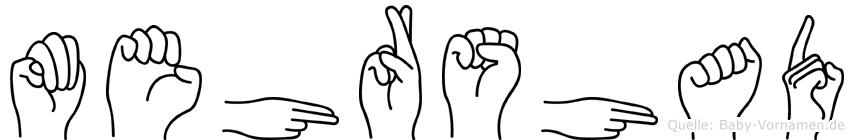 Mehrshad in Fingersprache für Gehörlose