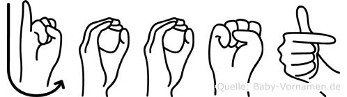 Joost in Fingersprache für Gehörlose