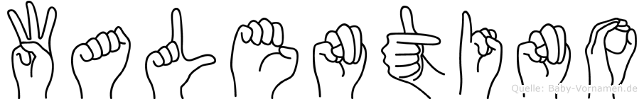 Walentino in Fingersprache für Gehörlose